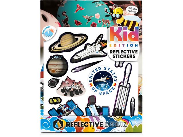 REFLECTIVE BERLIN K.I.D. Reflektierender Sticker bunt